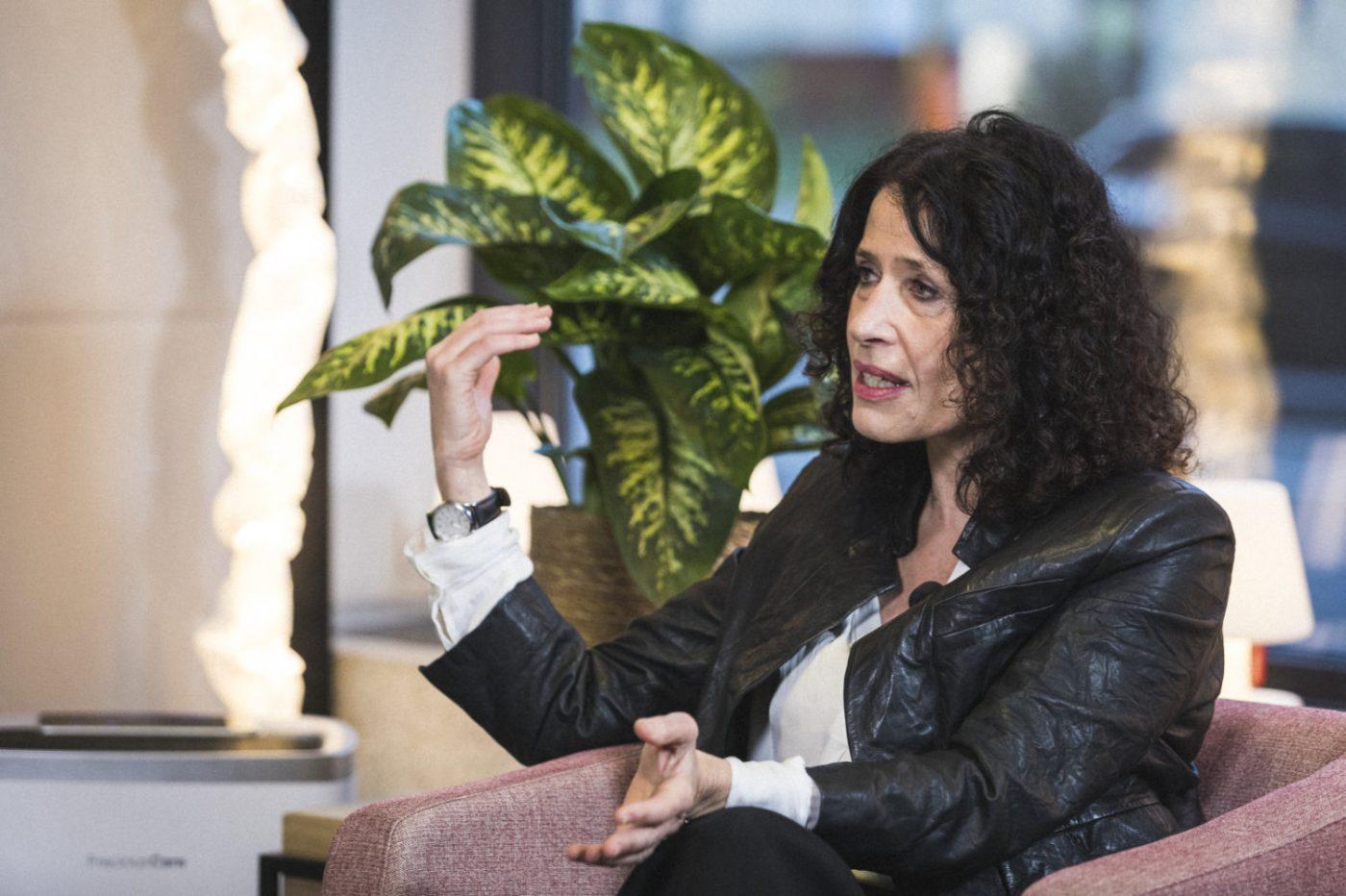 Bettina Jarrasch im Gespräch mit Markus Beeth