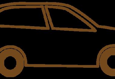 SUV-Zeichnung