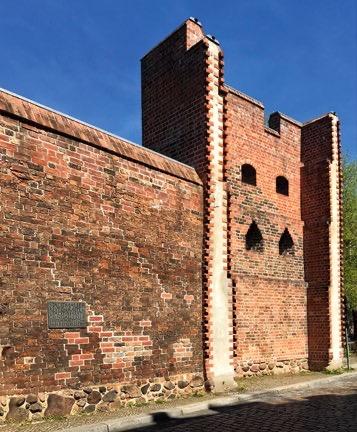 Historische Stadtmauer, Hoher Steinweg, Spandau