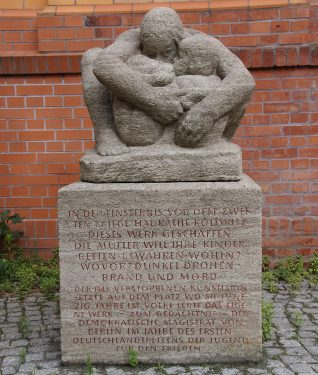 Denkmal Kollwitzplatz 1950-1960